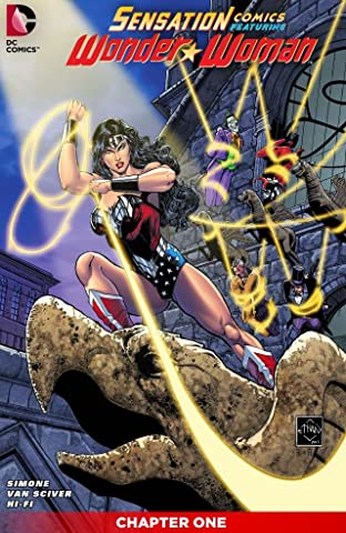 Sensation Comics Featuring Wonder Woman (2014-2015) #1