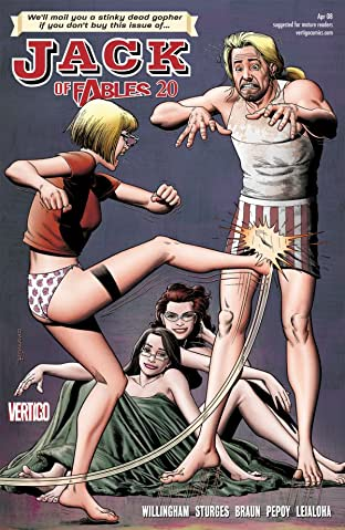 Jack of Fables #20