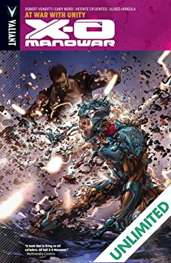X-O Manowar Vol. 5: At War With Unity