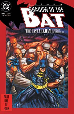 Batman: Shadow of the Bat No.1