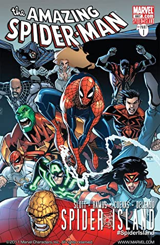 Amazing Spider-Man (1999-2013) #667