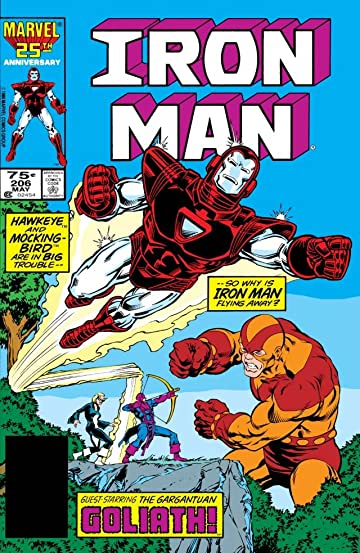 Iron Man (1968-1996) #206