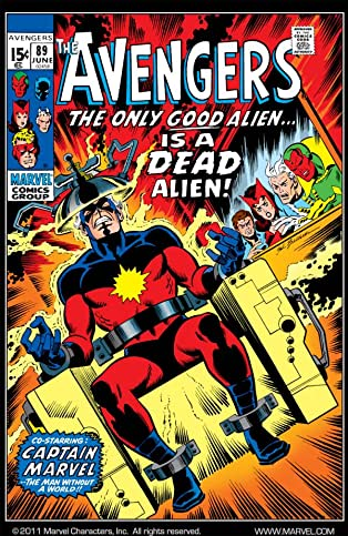 Avengers (1963-1996) #89