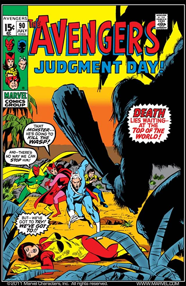 Avengers (1963-1996) #90