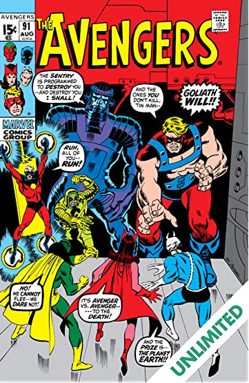 Avengers (1963-1996) #91