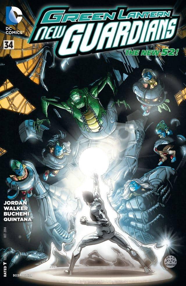 Green Lantern: New Guardians (2011-2015) #34