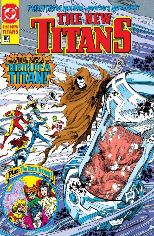 The New Titans (1984-1996) #85