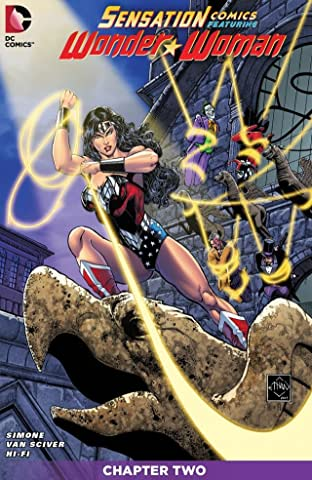 Sensation Comics Featuring Wonder Woman (2014-2015) No.2