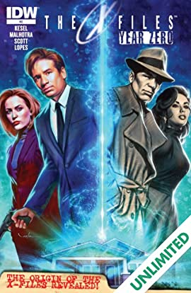The X-Files: Year Zero #2 (of 5)