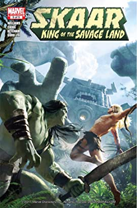 Skaar: King of the Savage Land #5 (of 5)