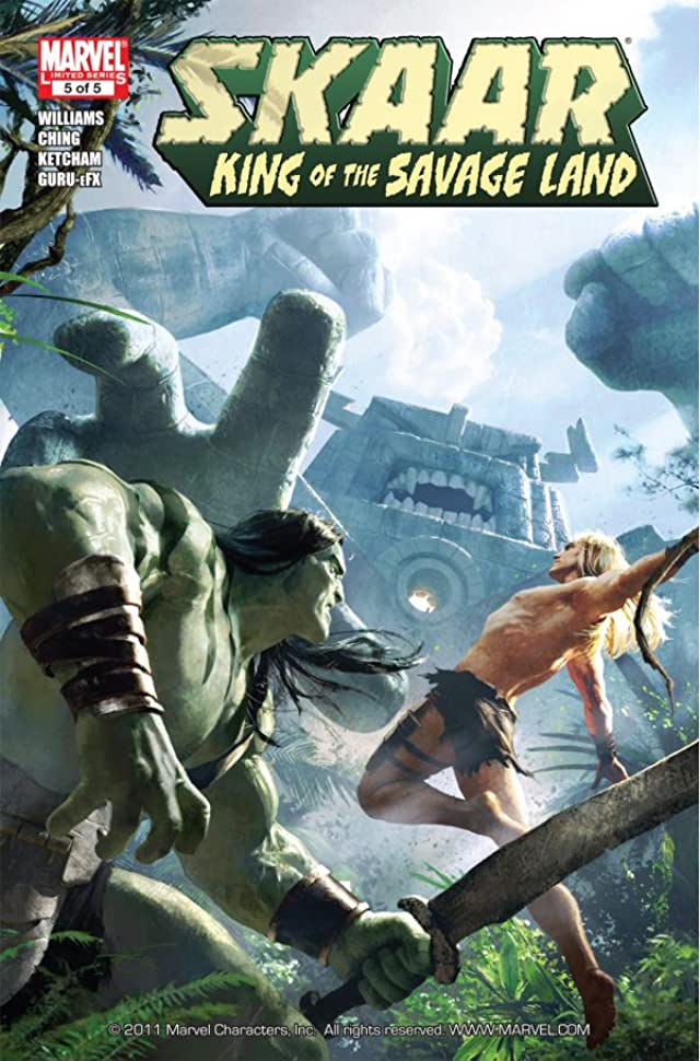 Skaar: King of the Savage Land #5