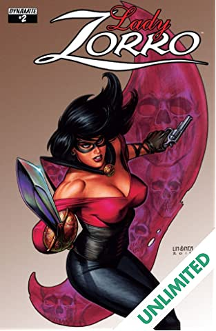 Lady Zorro #2 (of 4): Digital Exclusive Edition