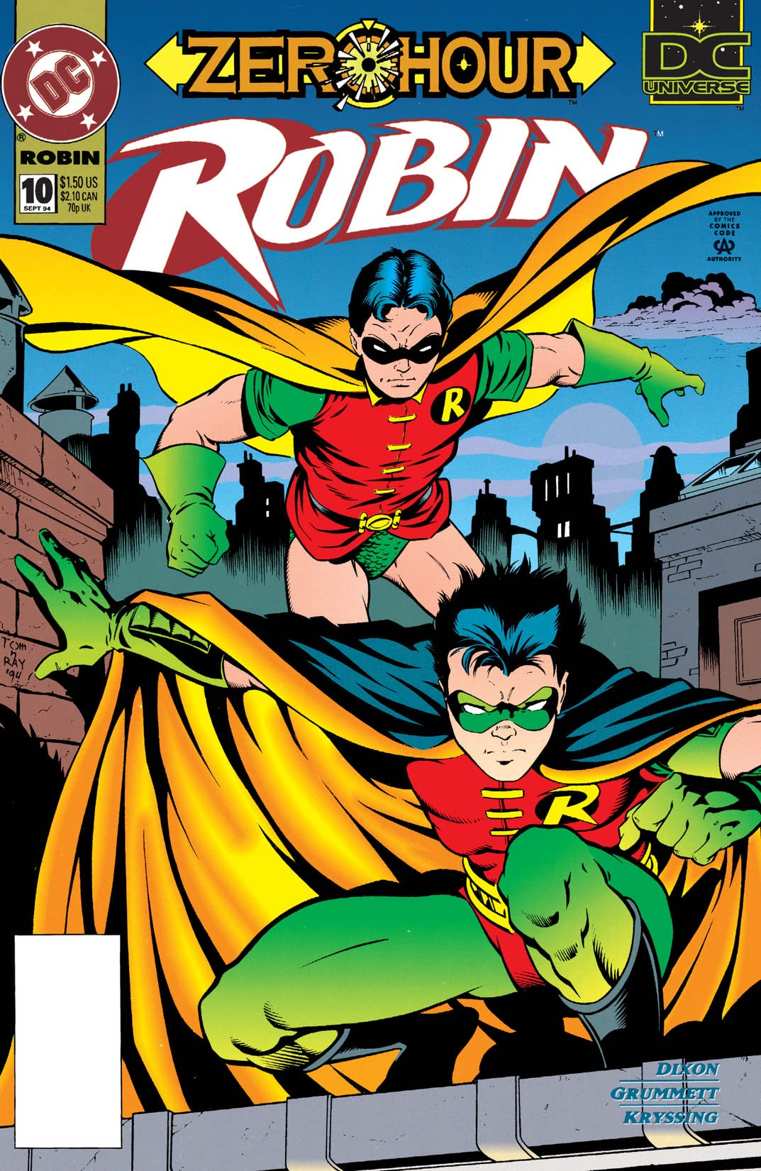 Robin (1993-2009) #10