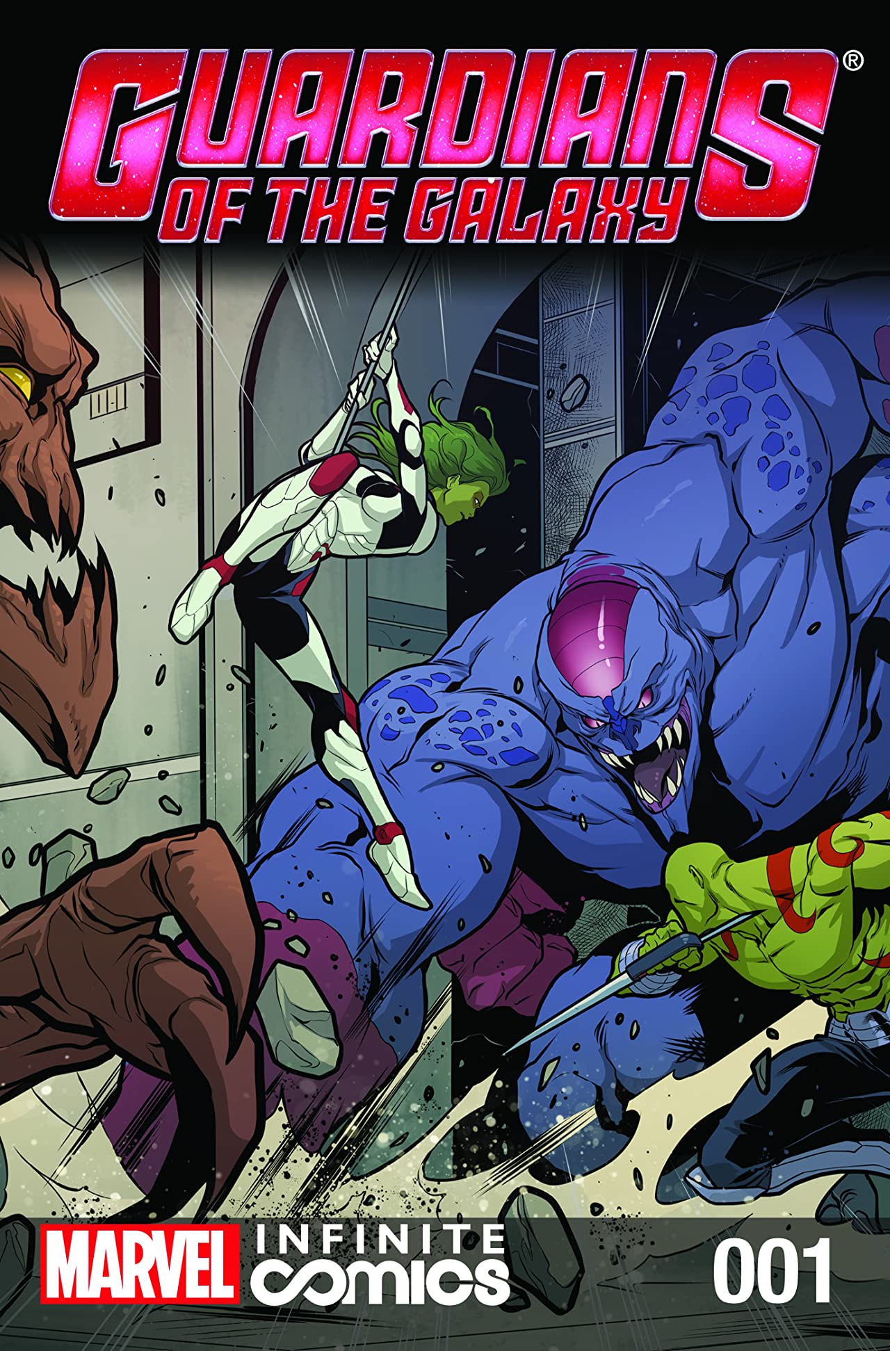 Guardians of the Galaxy Infinite (2014) #1