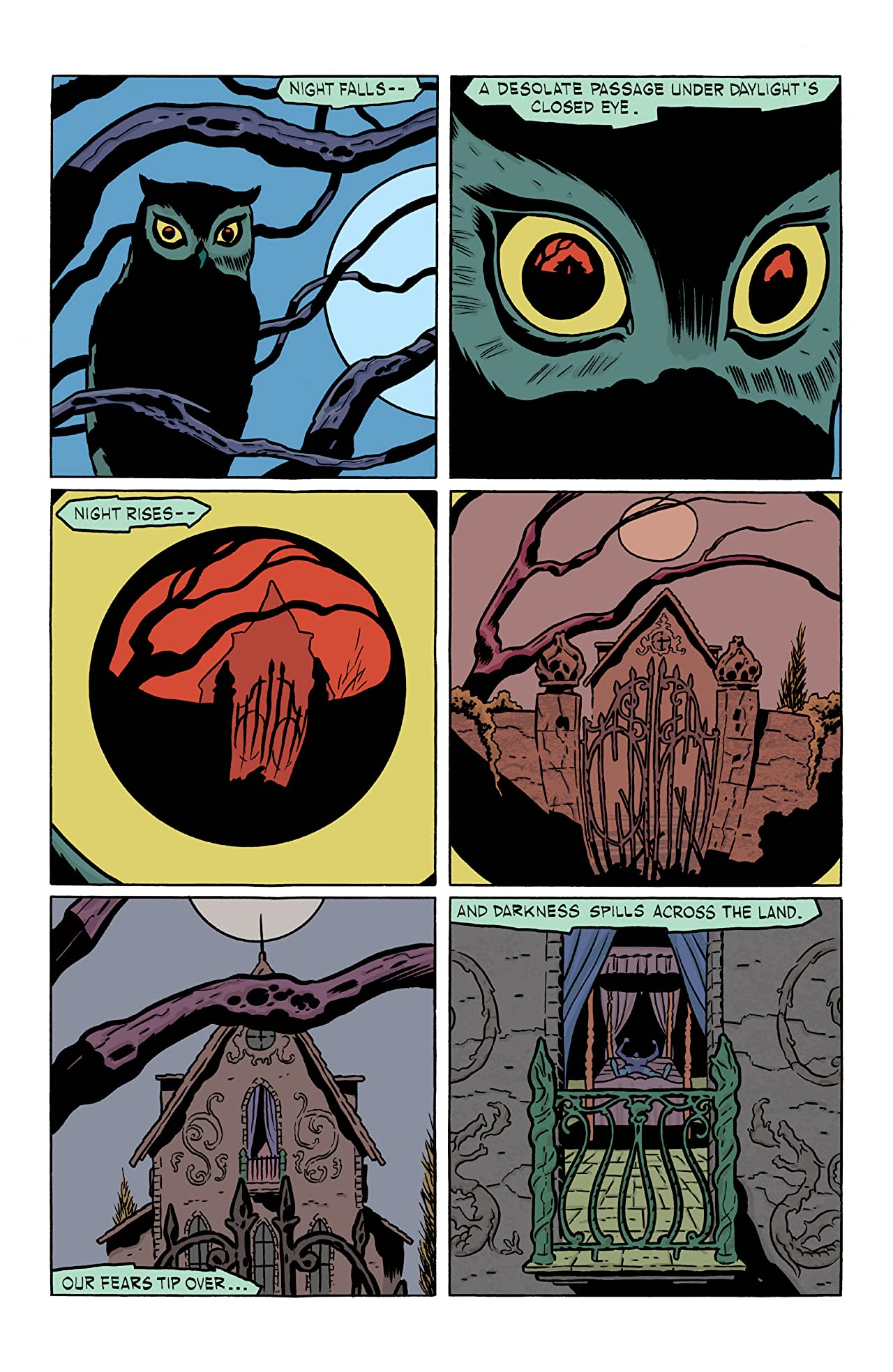 Nightworld #1 (of 4)