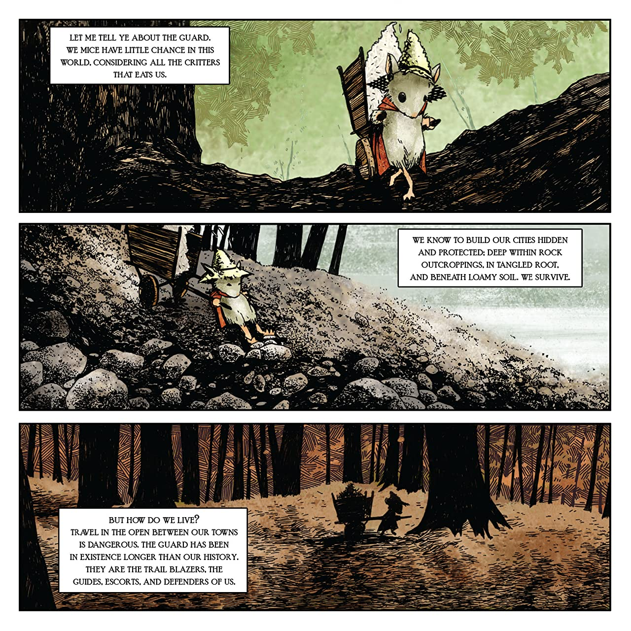 Mouse Guard Vol. 1: Fall 1152