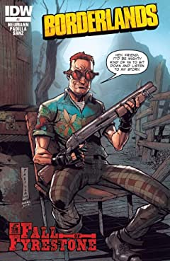 Borderlands: The Fall of Fyrestone #2