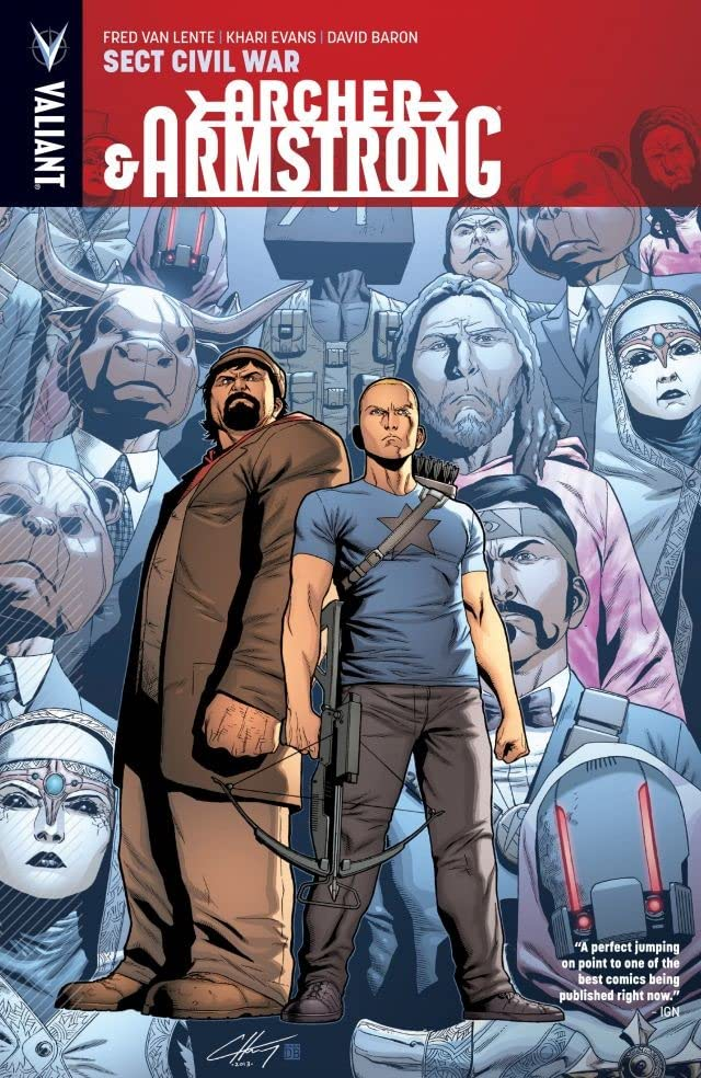 Archer & Armstrong Vol. 4: Sect Civil War