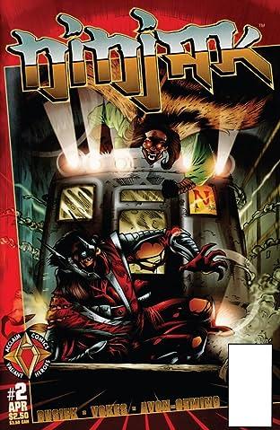 Ninjak (1997) #2