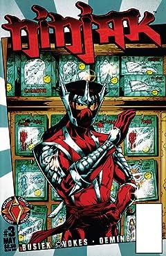 Ninjak (1997) No.3
