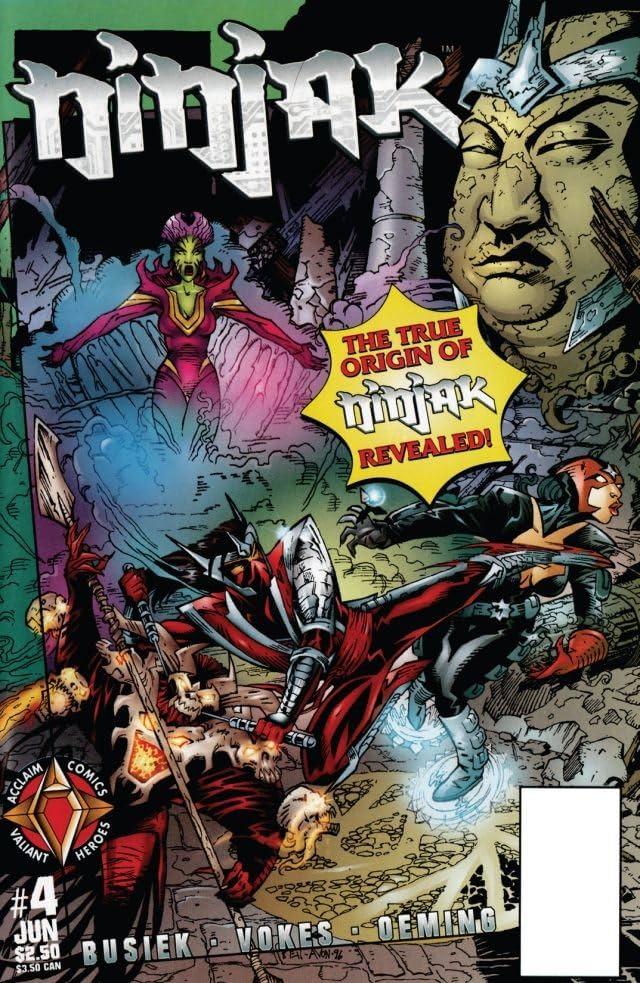 Ninjak (1997) #4