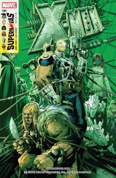 X-Men (2004-2007) #191