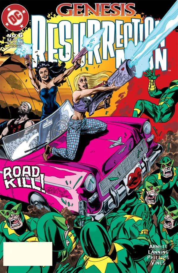 Resurrection Man (1997-1999) #6