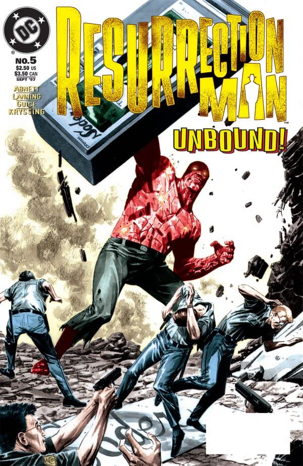 Resurrection Man (1997-1999) #5