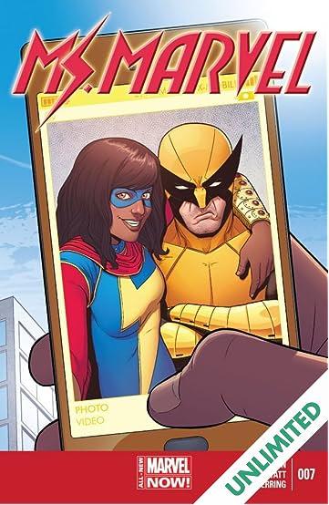Ms. Marvel (2014-2015) #7