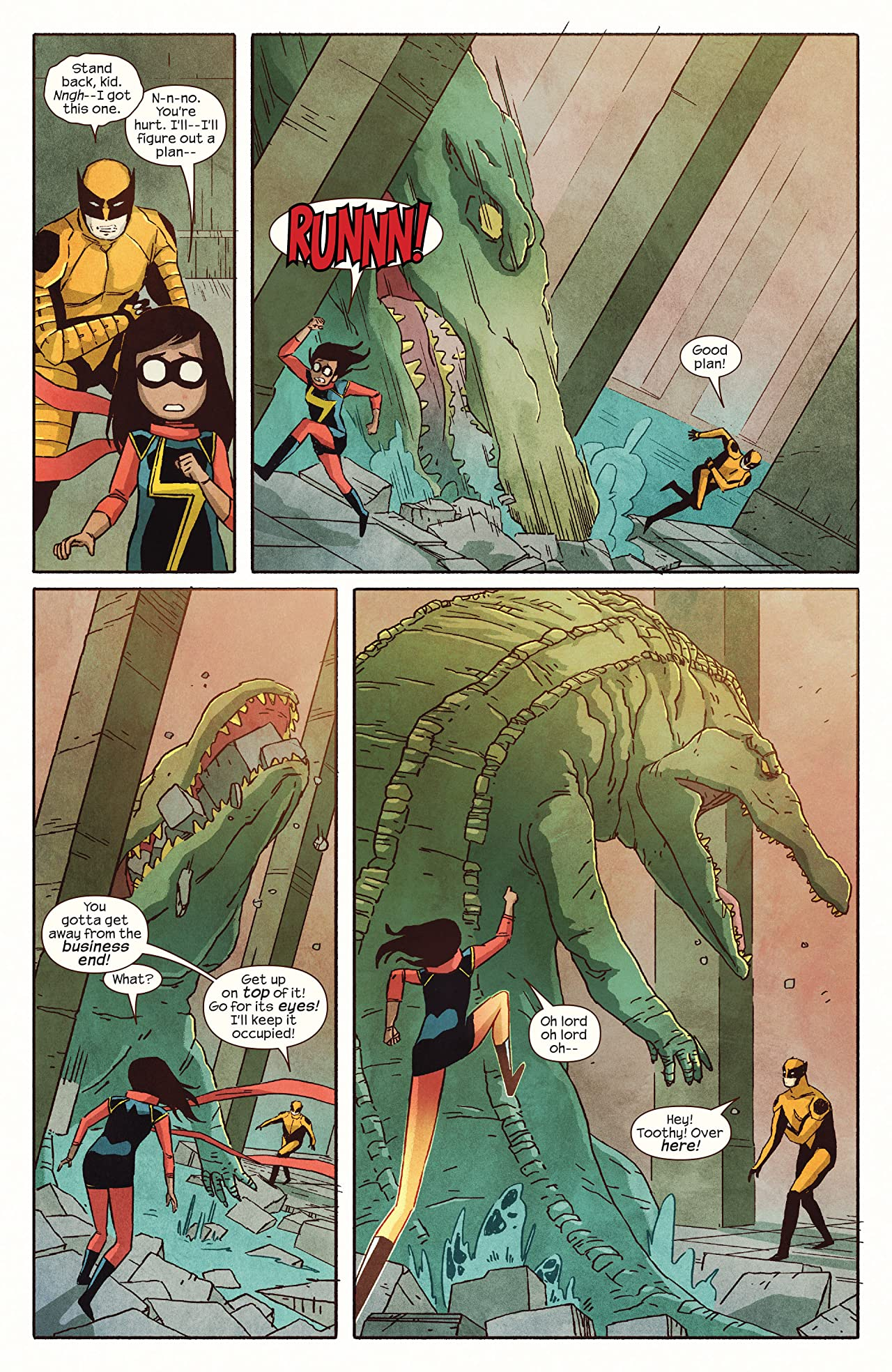 Ms. Marvel (2014-2015) #7