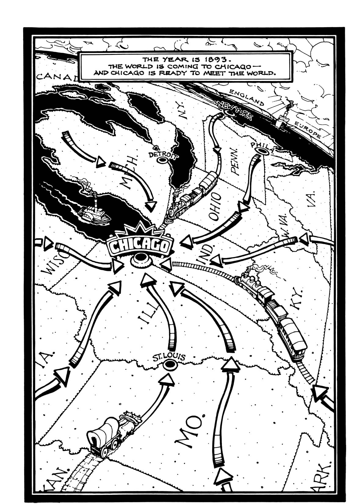 A Treasury of Victorian Murder: The Beast of Chicago: Preview