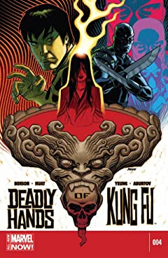 Deadly Hands of Kung Fu (2014-) #4 (of 4)