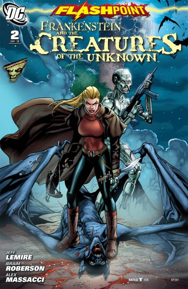 Flashpoint: Frankenstein and the Creatures of The Unknown #2 (of 3)