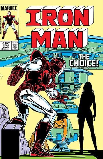 Iron Man (1968-1996) #204
