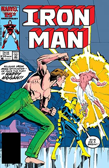 Iron Man (1968-1996) #210