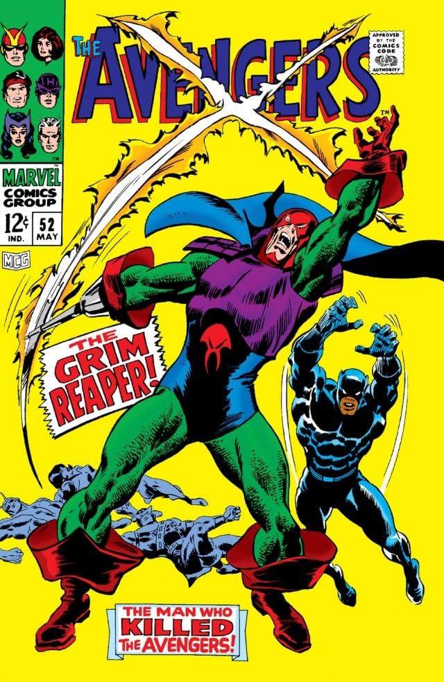 Avengers (1963-1996) #52