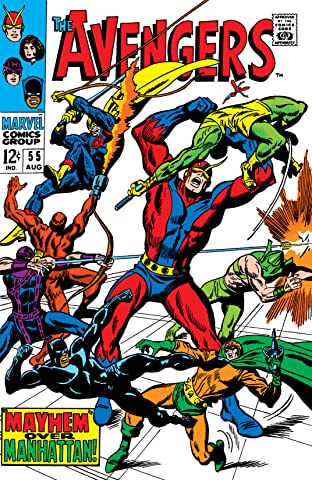 Avengers (1963-1996) No.55