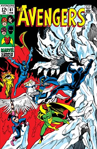 Avengers (1963-1996) No.61
