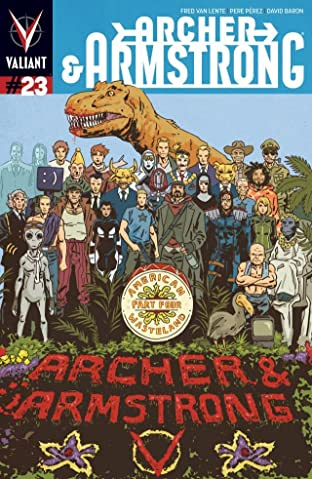 Archer & Armstrong (2012- ) No.23: Digital Exclusives Edition