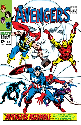 Avengers (1963-1996) No.58