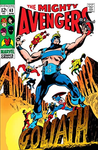 Avengers (1963-1996) No.63