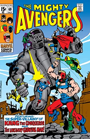 Avengers (1963-1996) No.69
