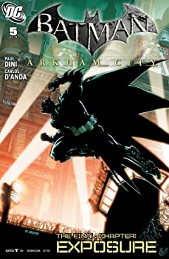 Batman: Arkham City #5 (of 5)