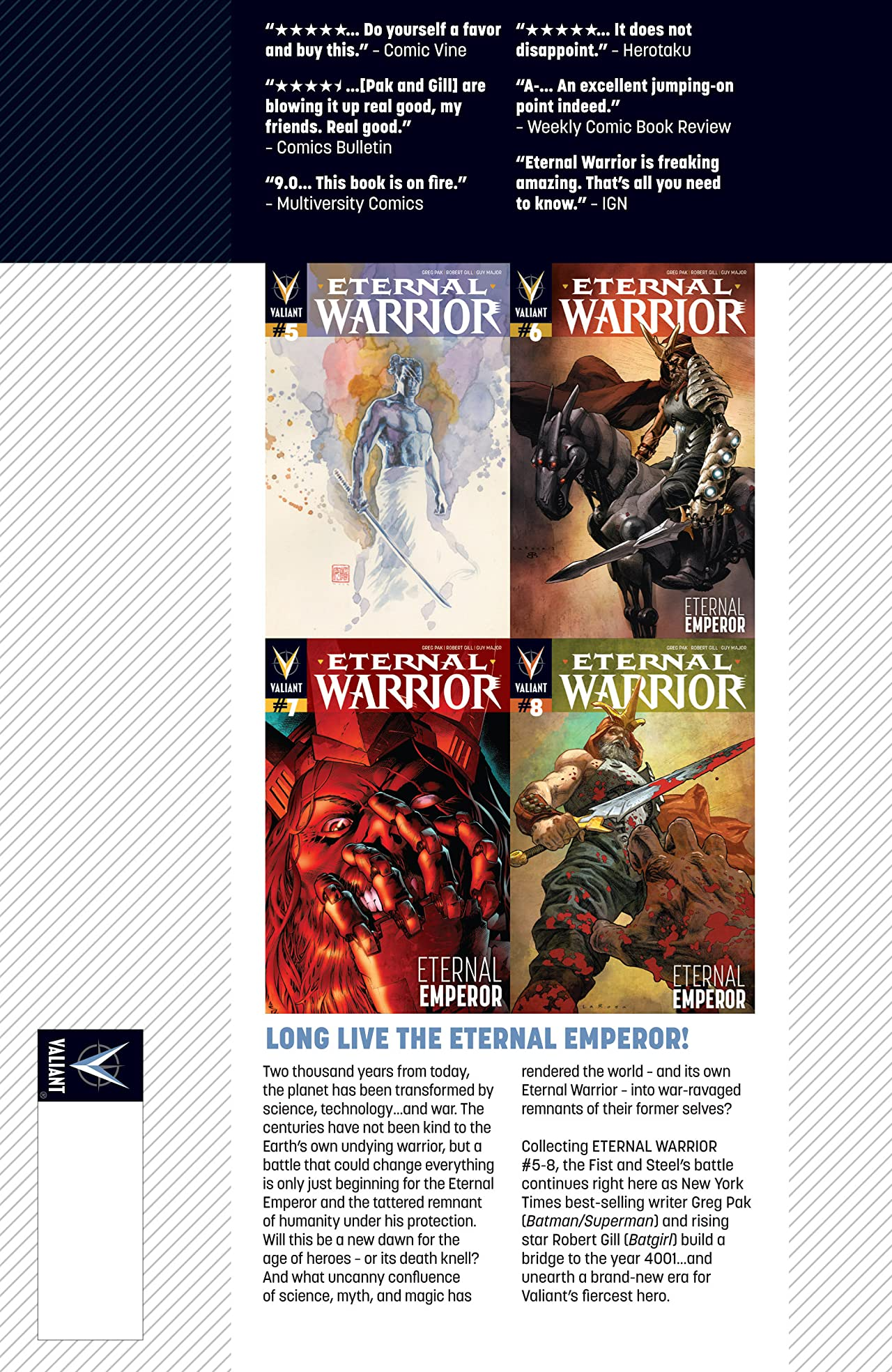 Eternal Warrior Vol. 2: Eternal Emperor
