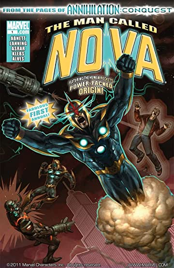 Nova (2007-2010) Annual #1