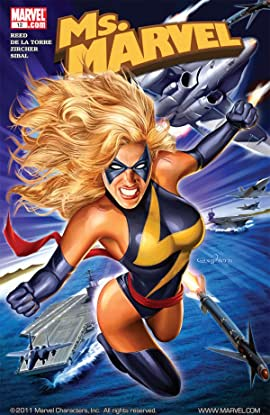 Ms. Marvel (2006-2010) #12