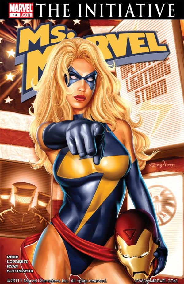 Ms. Marvel (2006-2010) #13