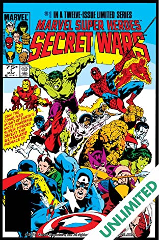 Marvel Super Heroes Secret Wars (1984-1985) #1