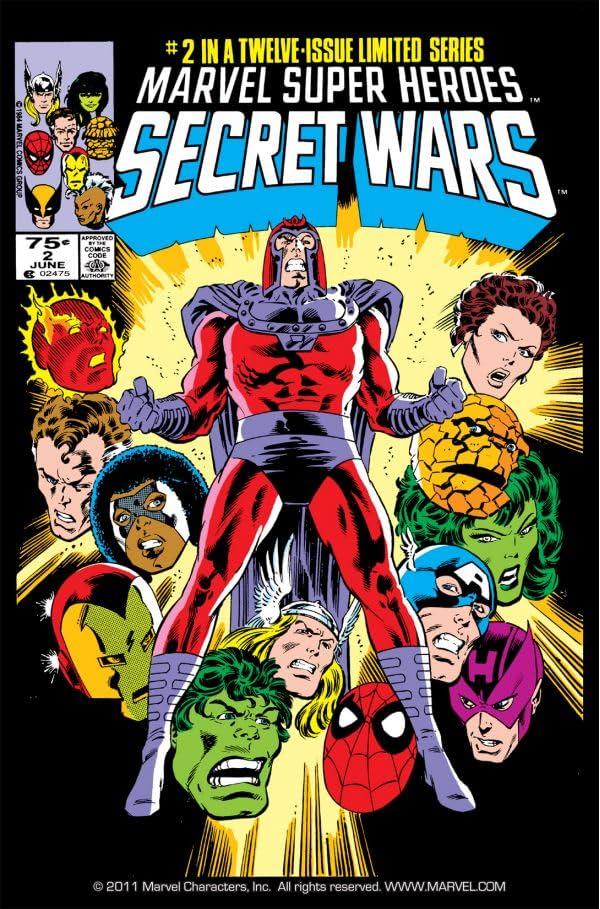 Marvel Super Heroes Secret Wars (1984-1985) #2