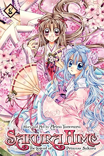 Sakura Hime: The Legend of Princess Sakura Vol. 8